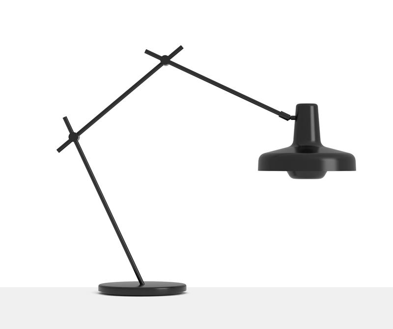 Grupa products – Grupa arigato bordlampe - sort fra unoliving.com