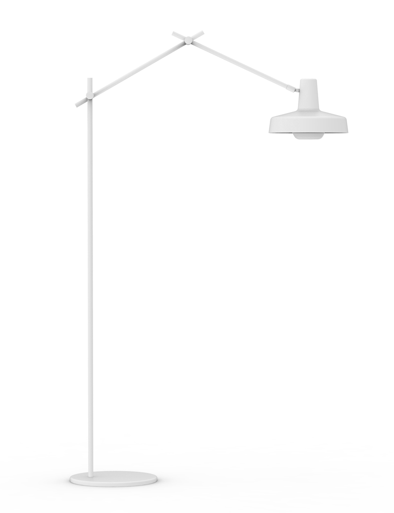 Grupa products – Grupa arigato gulvlampe - hvid på unoliving.com