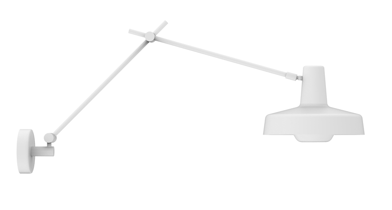 Grupa products – Grupa arigato væglampe - hvid på unoliving.com