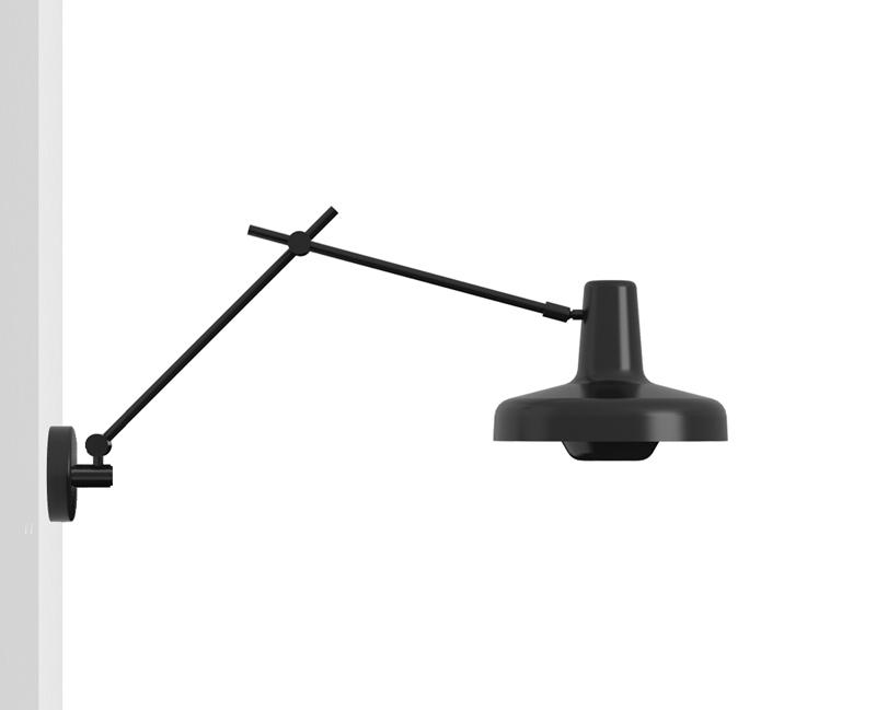 Grupa products – Grupa arigato væglampe - sort på unoliving.com