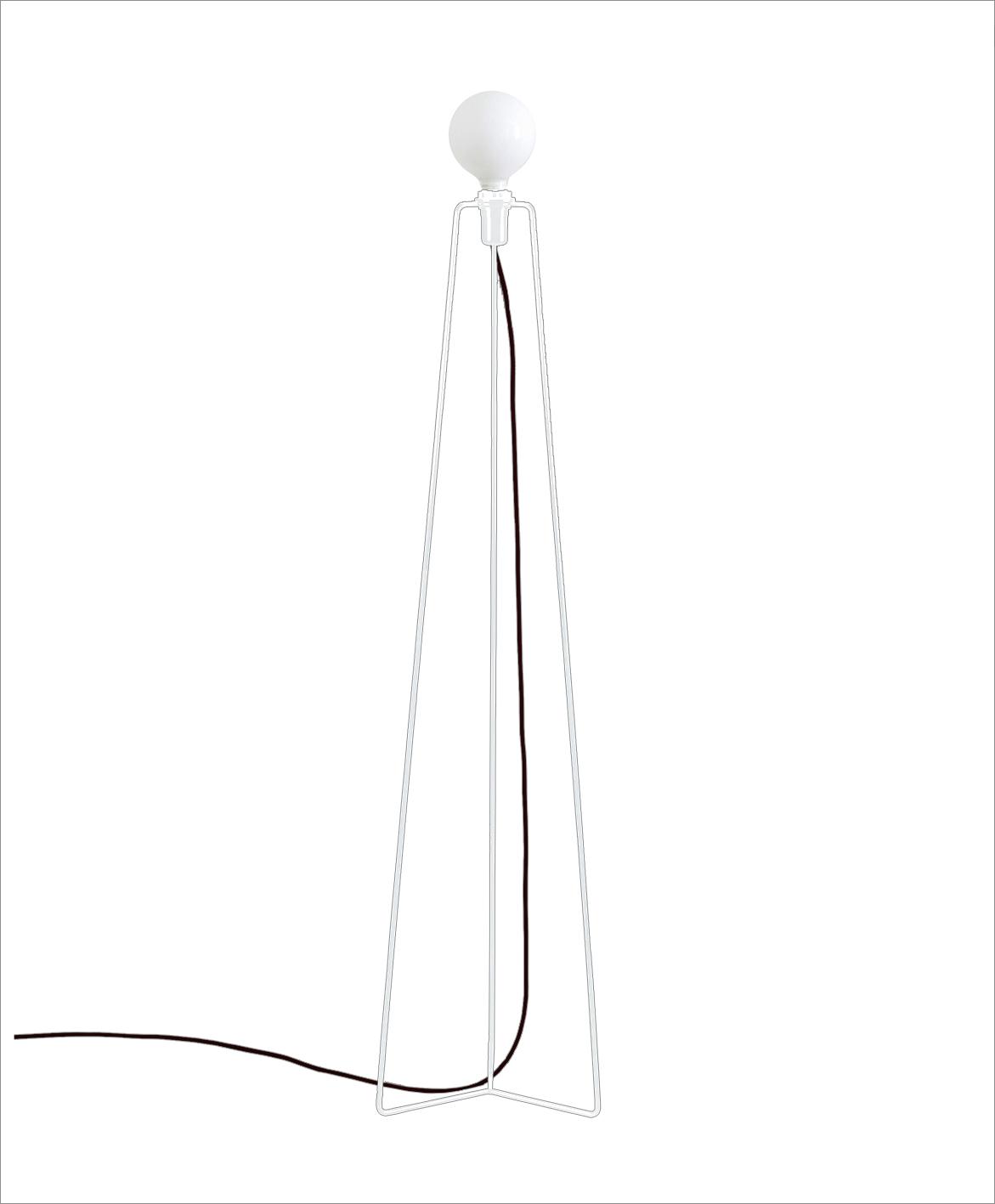 Grupa products – Grupa model gulvlampe - hvid fra unoliving.com