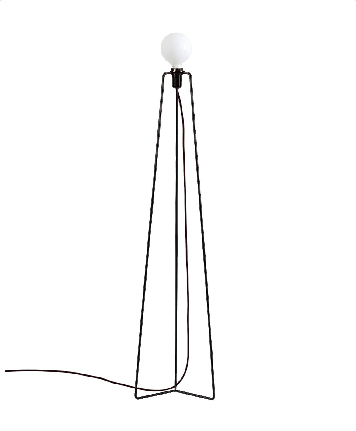 Grupa products – Grupa model gulvlampe - sort fra unoliving.com