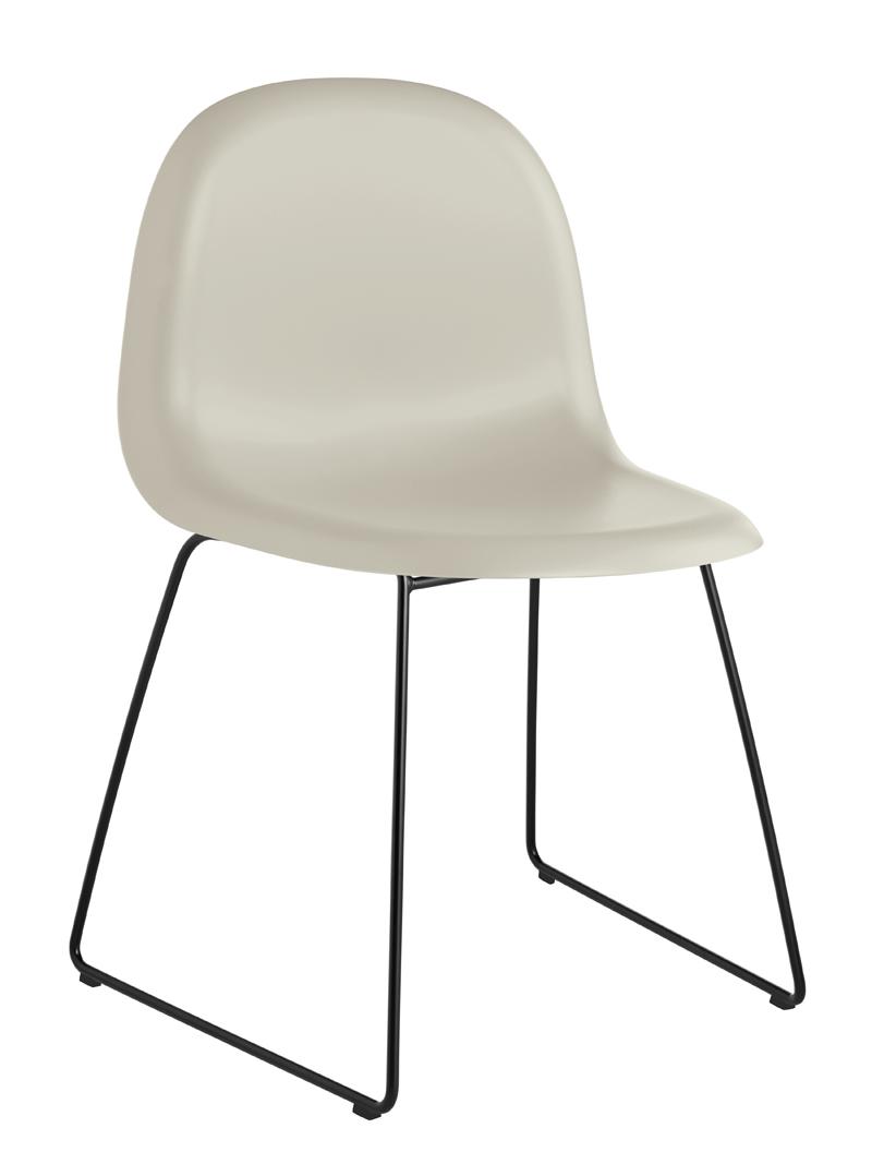 Gubi Gubi - 3d spisebordsstol - grå fra unoliving.com