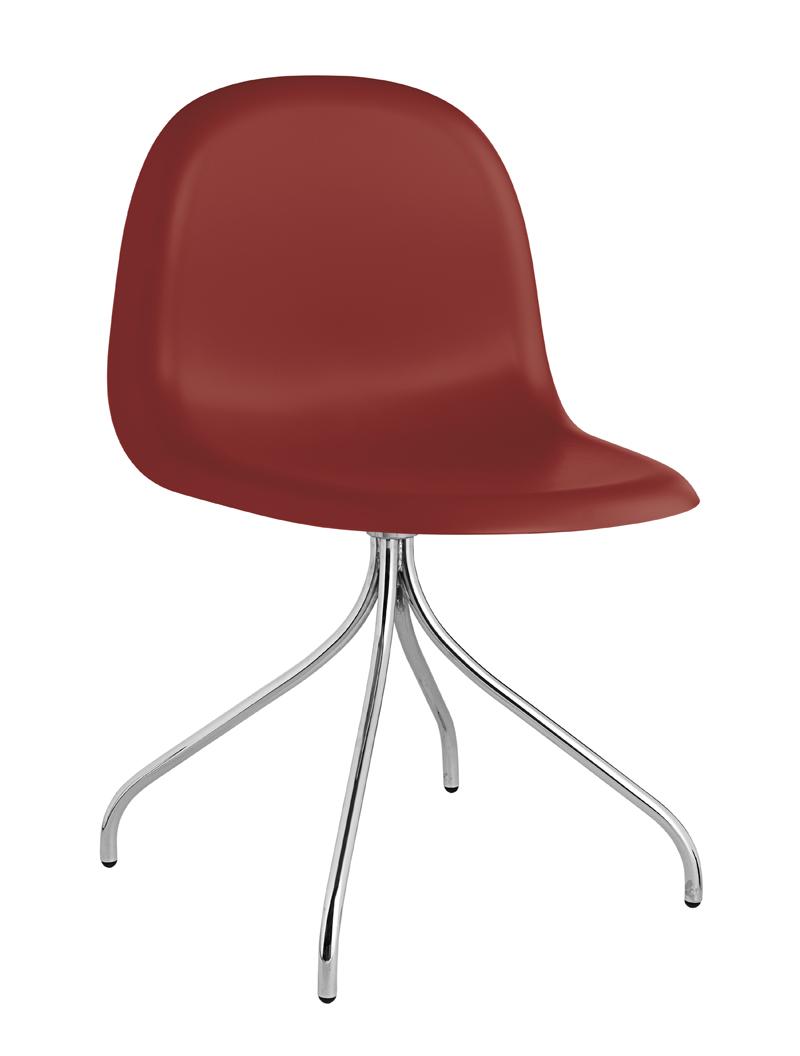 Gubi Gubi - 3d spisebordsstol - rød fra unoliving.com