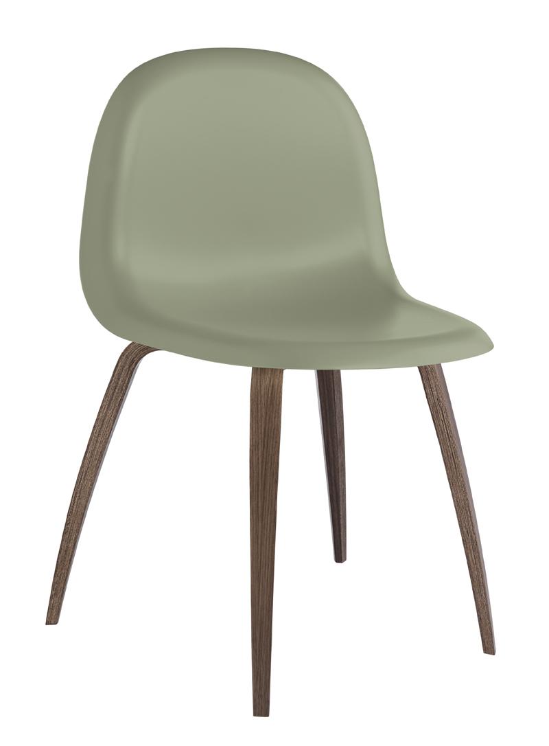 Gubi – Gubi - 3d spisebordsstol - grøn fra unoliving.com