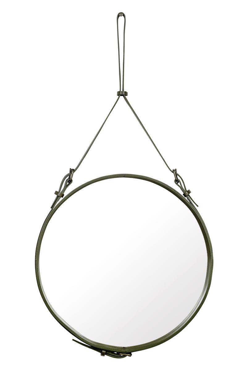Gubi Gubi - adnet spejl - ø58 - olive på unoliving.com