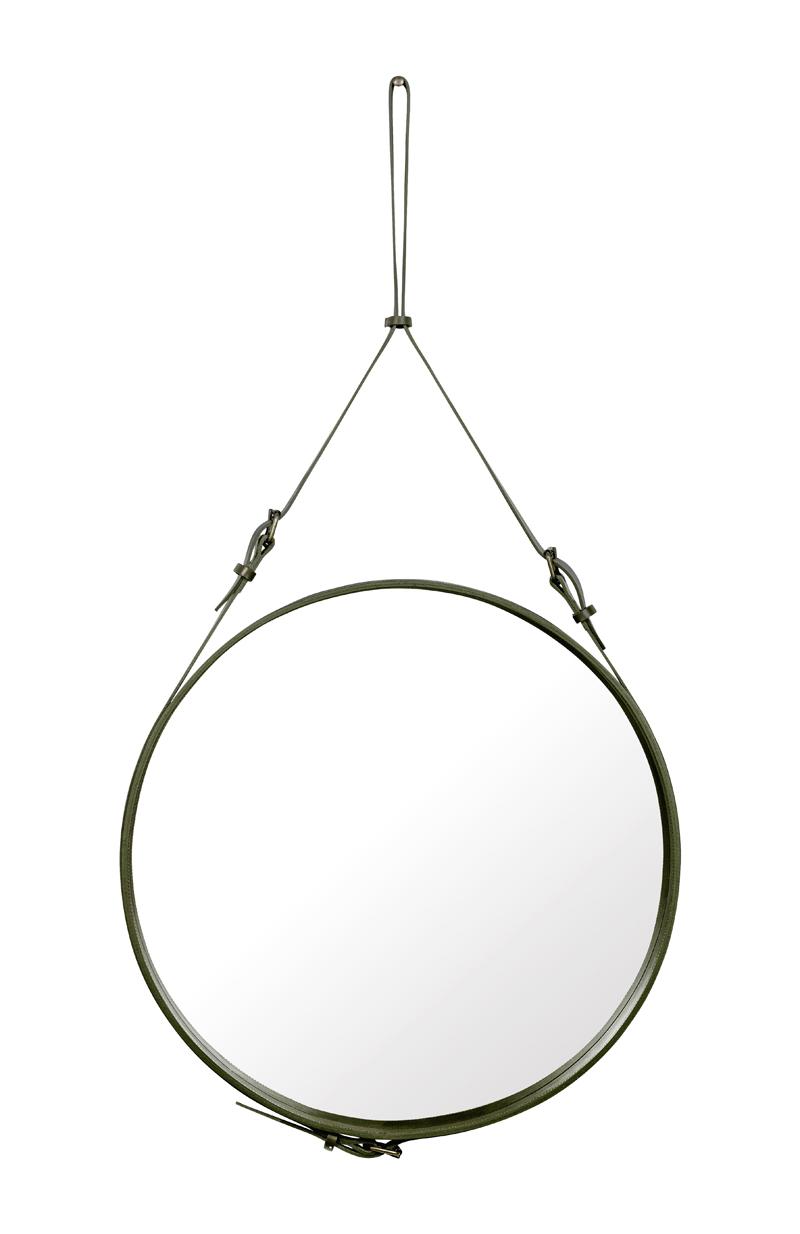 Gubi Gubi - adnet spejl - ø70 - olive fra unoliving.com
