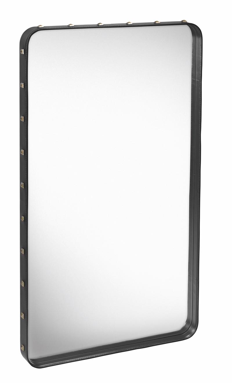Gubi – Gubi - adnet spejl - sort - m på unoliving.com
