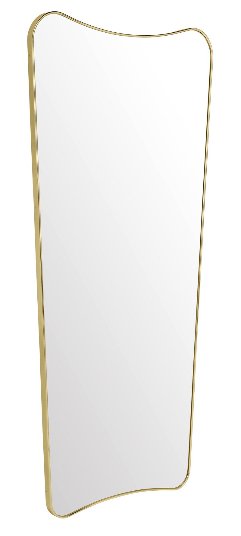 Gubi Gubi - f.a.33 spejl - messing - 146x70cm fra unoliving.com