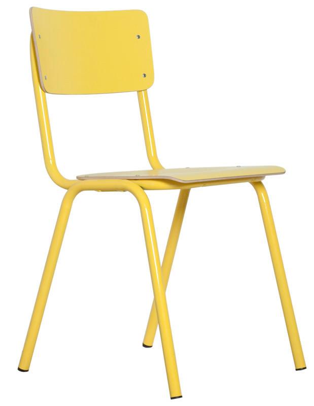 Zuiver - back to school stabelstol - gul fra Zuiver fra unoliving.com