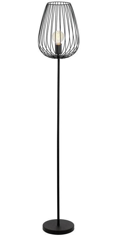 N/A – Newtown gulvlampe - sort fra unoliving.com