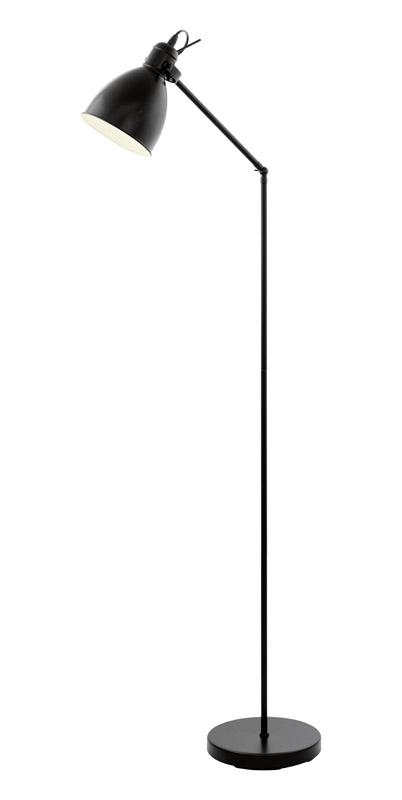 N/A – Priddy gulvlampe - sort fra unoliving.com