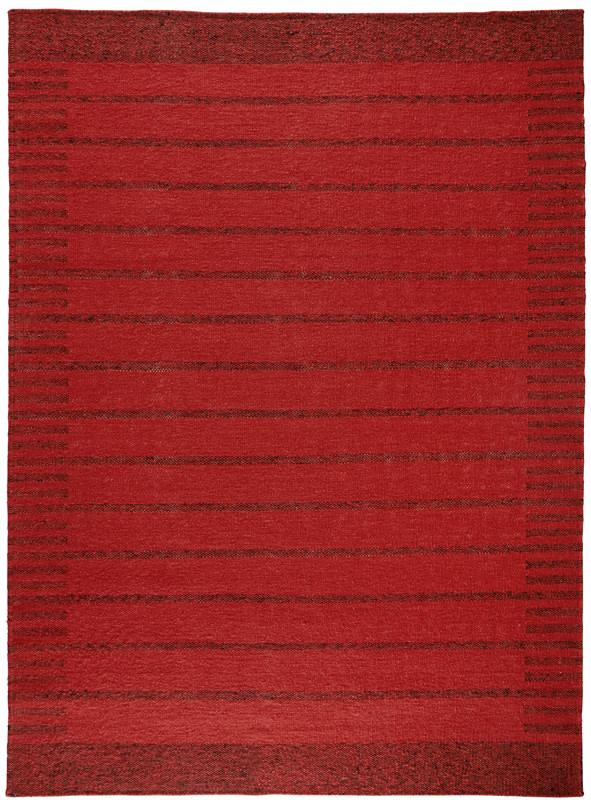 N/A – Trend uld kelimtæppe - rød - 140x200 på unoliving.com