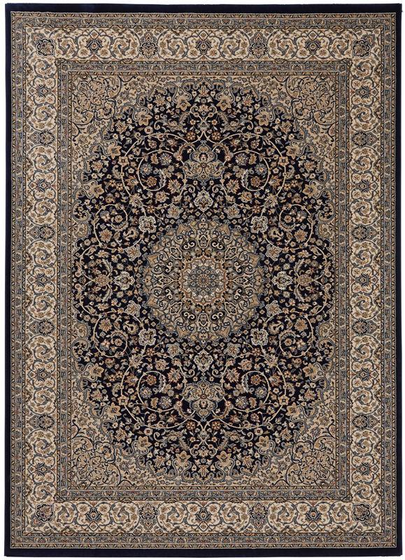 N/A Teheran oriental wiltontæppe - blå - 240x340 på unoliving.com