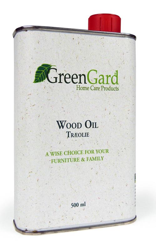 N/A Greengard træolie natur 500 ml fra unoliving.com