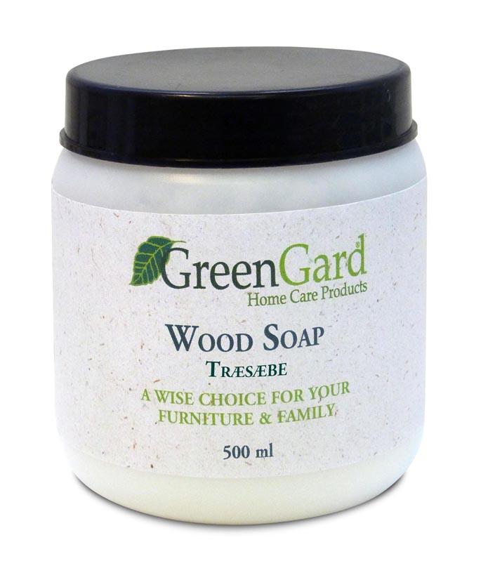 Greengard træsæbe natur 500 ml fra N/A på unoliving.com