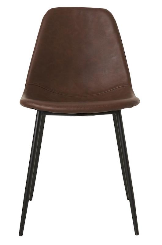 House doctor – House doctor forms spisebordsstol - brun fra unoliving.com