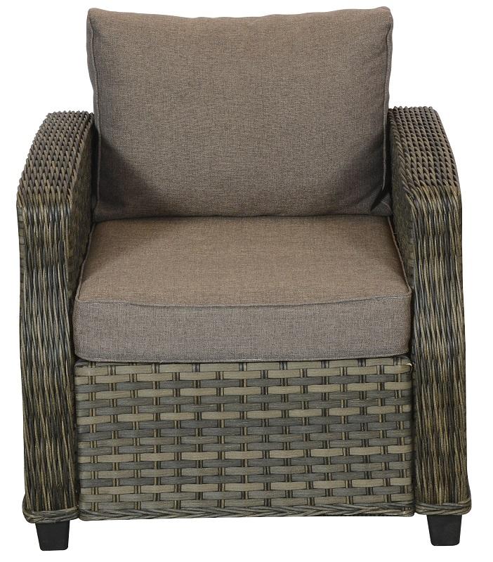 øland loungestol - taupe fra N/A fra unoliving.com