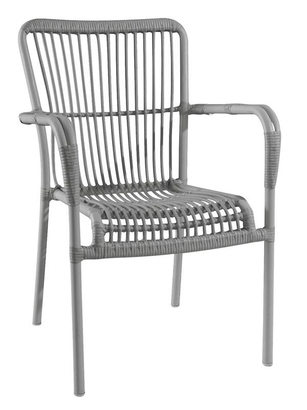 Envy celina havestol - grå fra N/A på unoliving.com