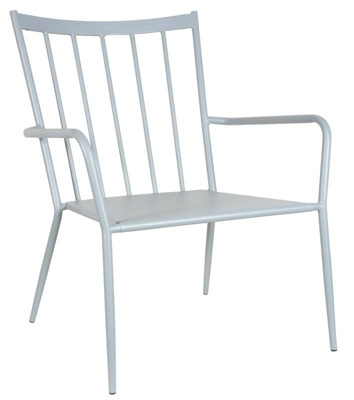 Envy ida loungestol - grå fra N/A på unoliving.com