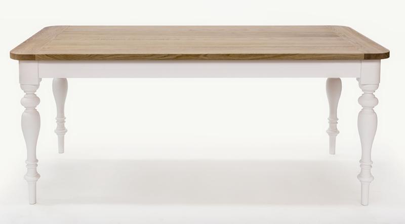 Woodman – Woodman - hertford spisebord - hvid fra unoliving.com