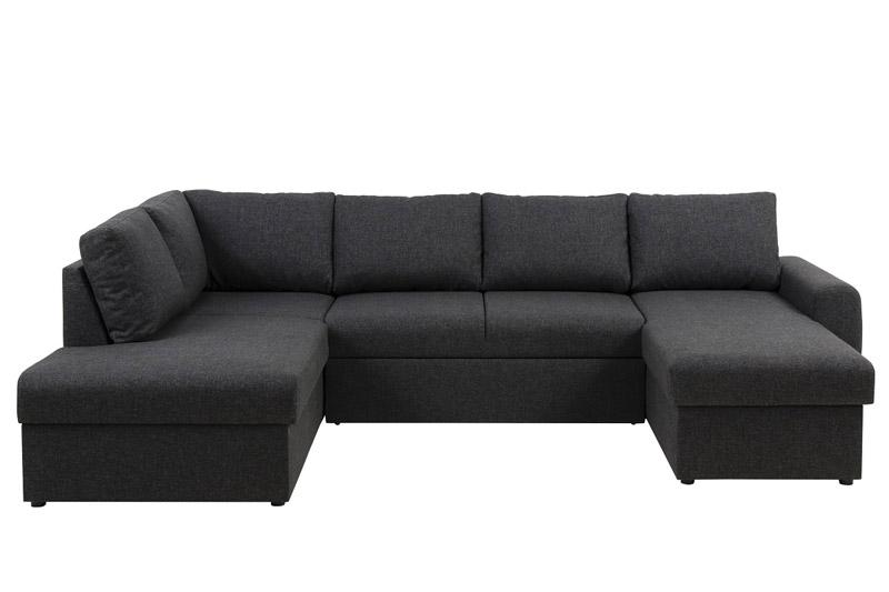 N/A Fairfield u-sofa venstrevendt - grå fra unoliving.com