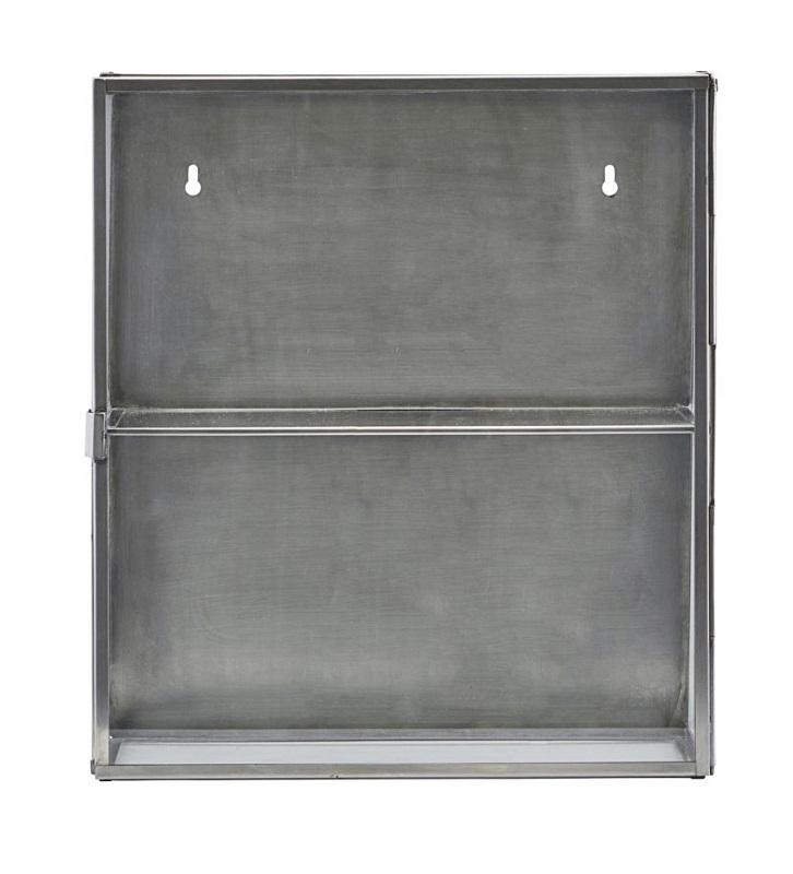 House doctor – House doctor - glasskab i rustfri stål h40 fra unoliving.com