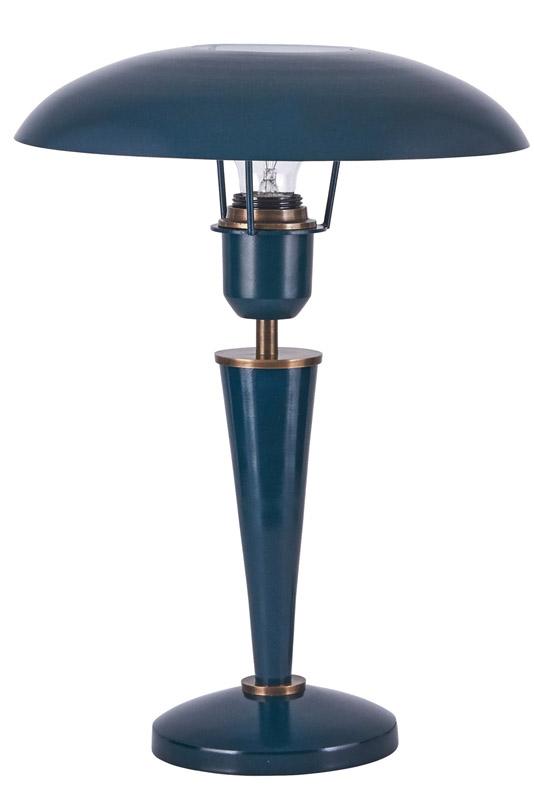 House doctor – House doctor opal bordlampe - petroleumsblå fra unoliving.com