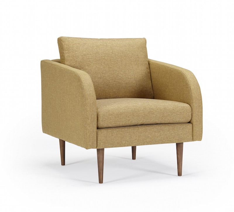 Billede af Kragelund Furniture - Hugo lænestol Gul