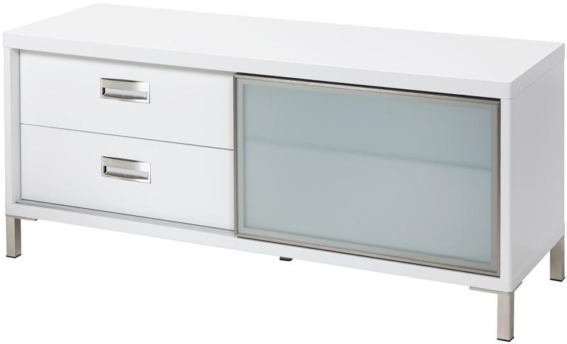 N/A Future tv-bord - hvid højglans b:116 fra unoliving.com