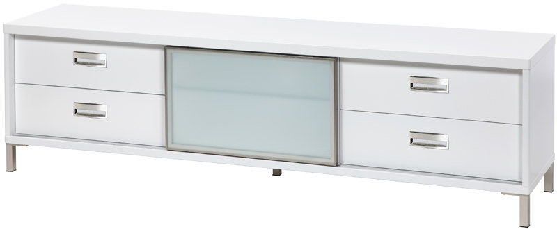 N/A Future tv-bord lavt - hvid b:178 fra unoliving.com