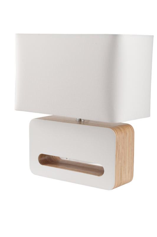 Zuiver Zuiver - wood bordlampe - hvid på unoliving.com
