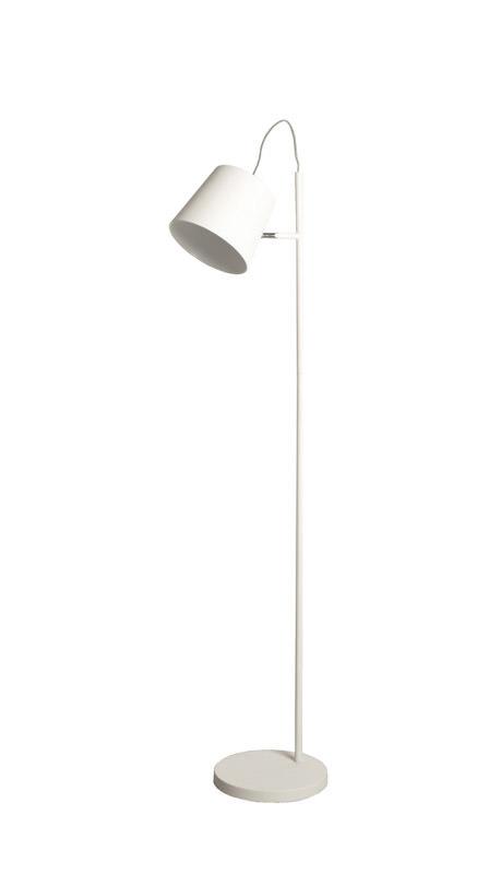 Zuiver - buckle head gulvlampe - hvid fra Zuiver på unoliving.com