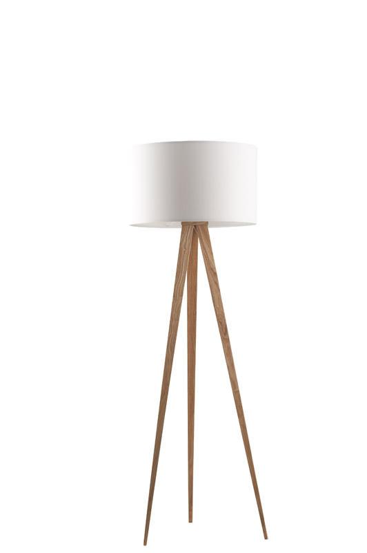 Zuiver – Zuiver - tripod wood gulvlampe - hvid fra unoliving.com