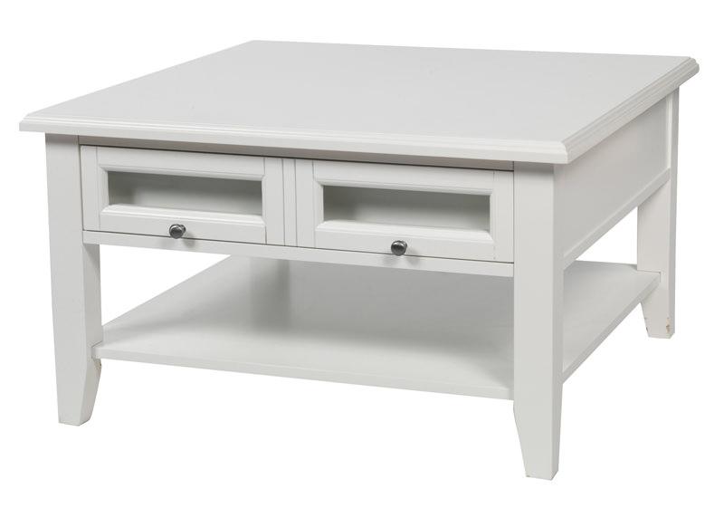N/A – Moss sofabord - hvid - 80x80 på unoliving.com
