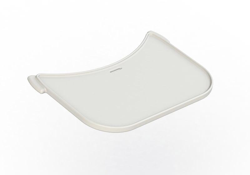 Flexa – Flexa - baby bord til højstol - hvid på unoliving.com