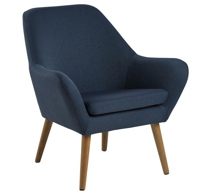 N/A – Boyd loungestol - blå på unoliving.com