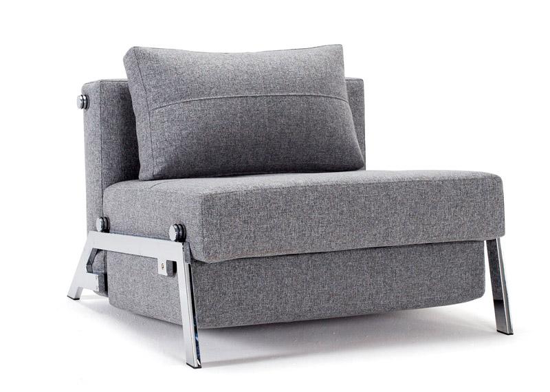 Innovation living – Innovation living - cubed deluxe 90 sovesofa - grå fra unoliving.com