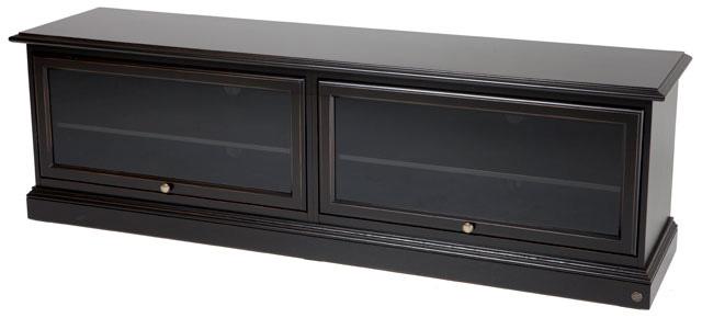 Donegal tv-bord - 185 cm - sort vintage fra N/A fra unoliving.com
