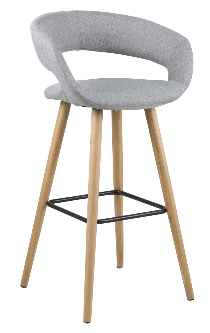 N/A – Kline barstol - lys grå fra unoliving.com