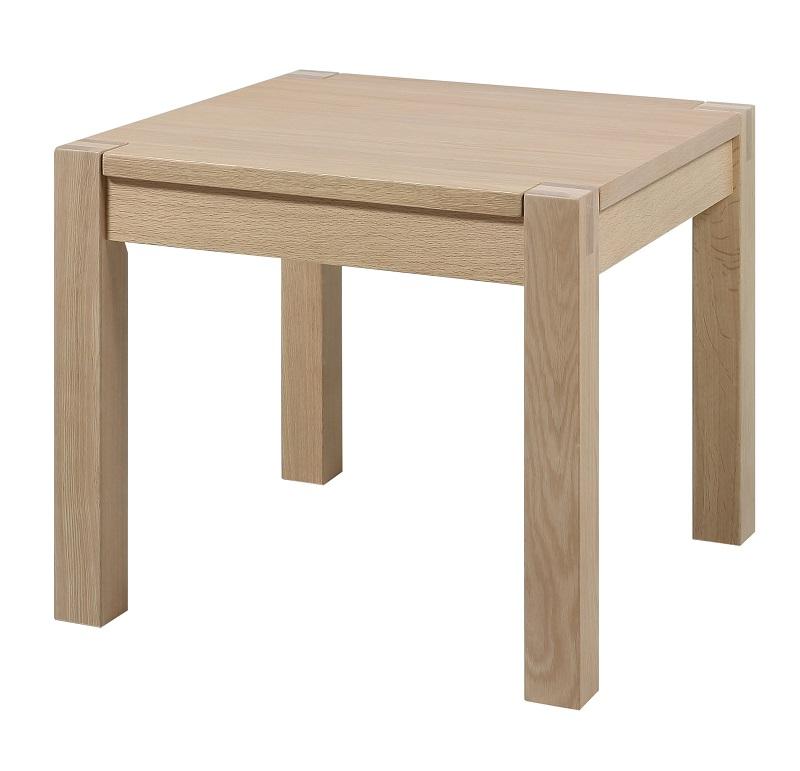 N/A – Fit hjørnebord - hvidpigmenteret egefinér på unoliving.com