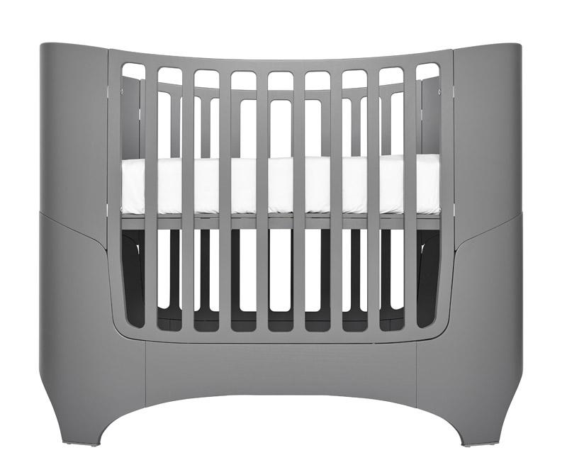 Leander Leander baby/junior seng grå på unoliving.com