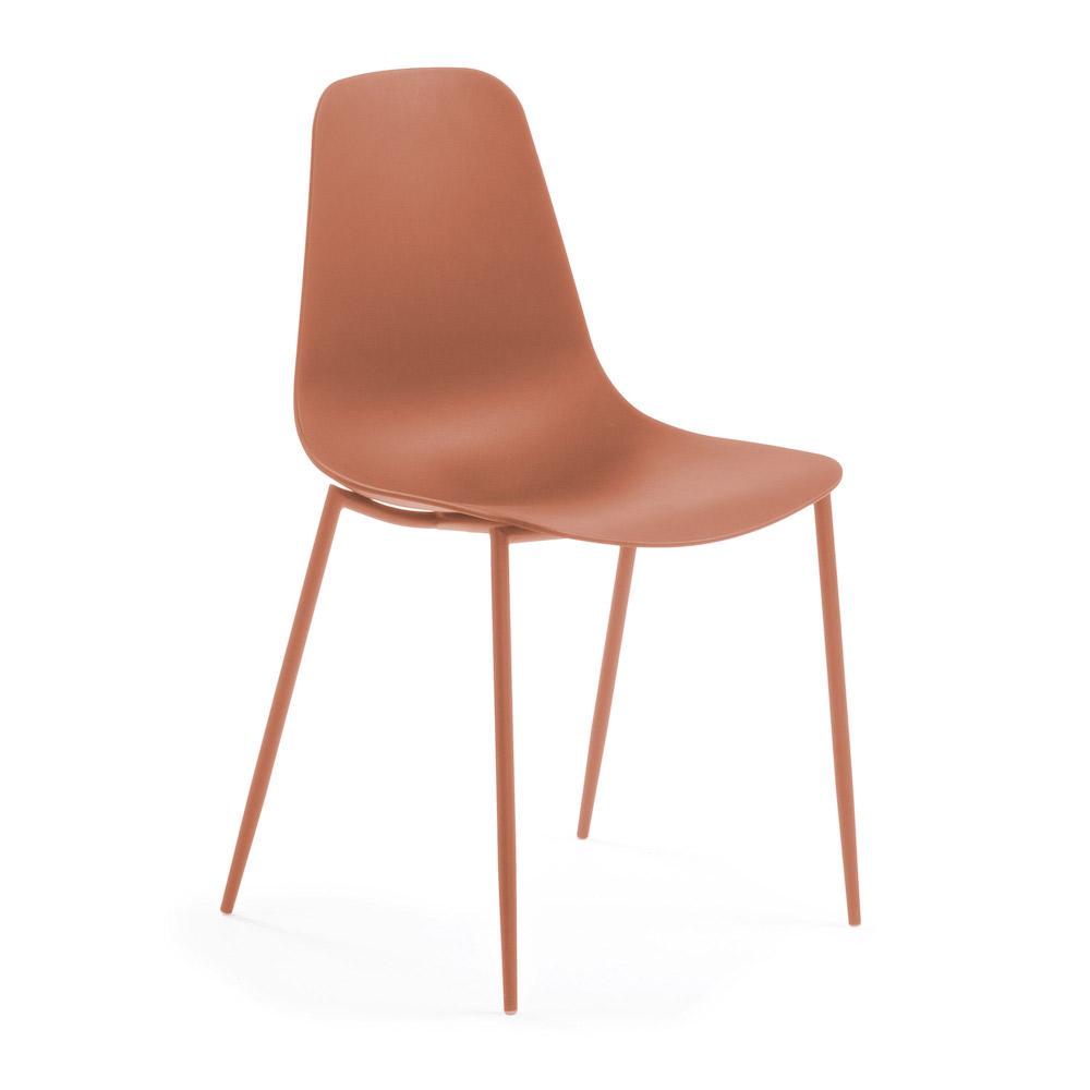 Billede af LaForma - Wassu Spisebordsstol - Mørk Orange