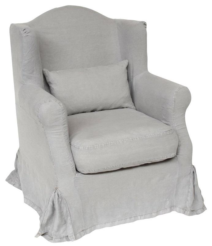 Ib laursen – Ib laursen - lænestol - gråt betræk på unoliving.com