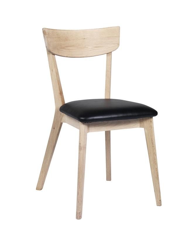 Billede af Lima Spisebordsstol - lakeret eg