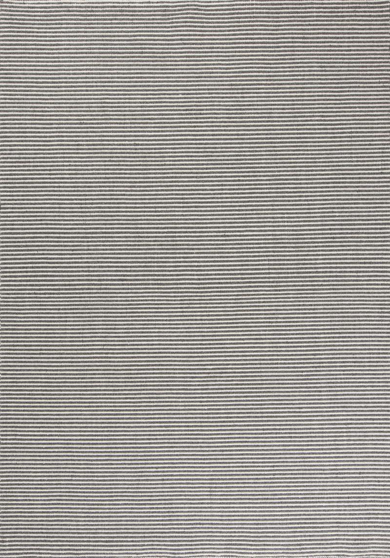 Billede af Linie Design Ajo Grå uld tæppe - 140x200