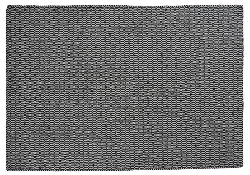 Billede af Linie Design Tile Tæppe - Stone - 200x300