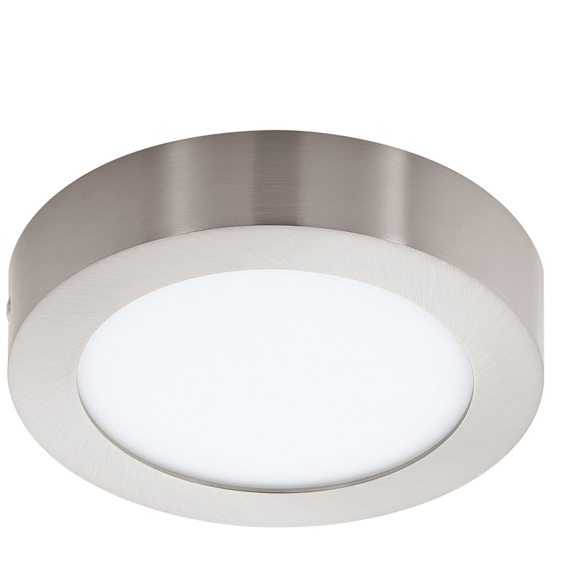 N/A – Fueva led loftlampe - børstet stål - ø17 fra unoliving.com