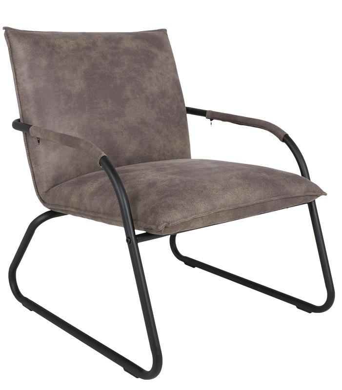 Canett marcus loungestol - brun stof fra Canett på unoliving.com