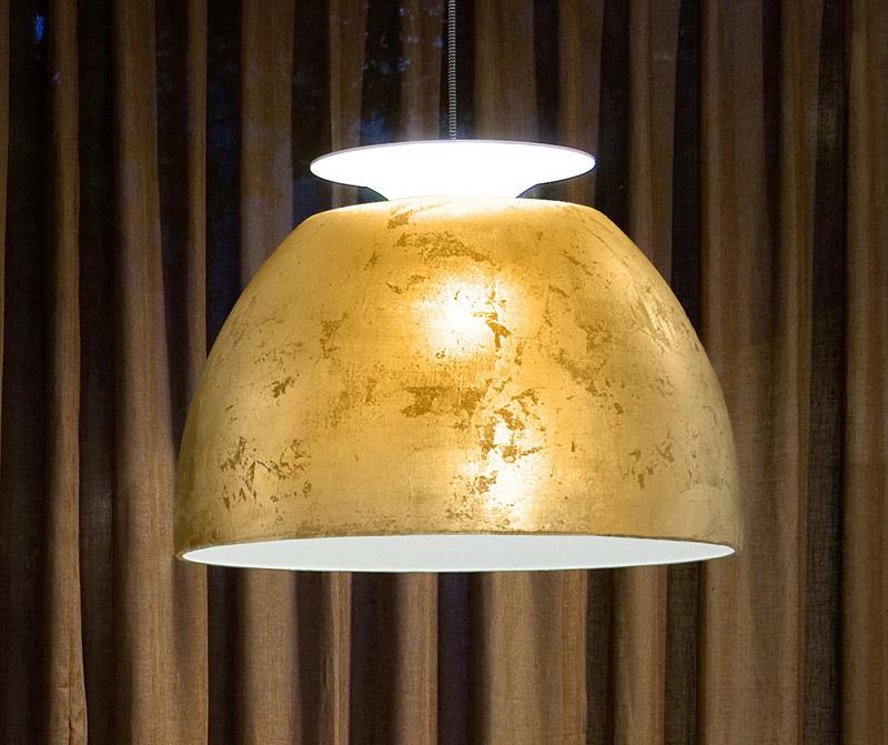 Lumini – Lumini bossa pendel - ø50 guld på unoliving.com